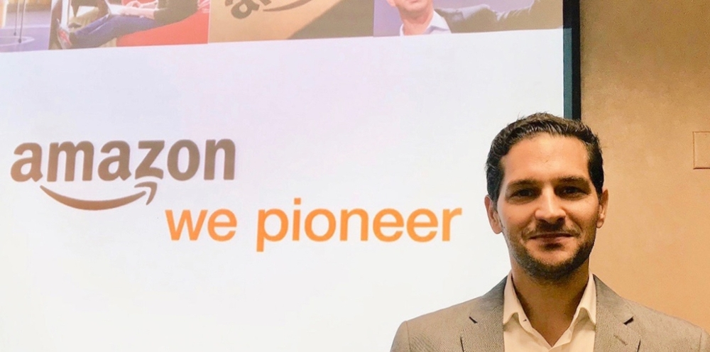 Chris Peyre, USD alumni and Head of Worldwide Supply Chain for Amazon Prime Now