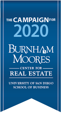 The Campaign for 2020, Burnham Moores Center for Real Estate, University San Diego School of Business