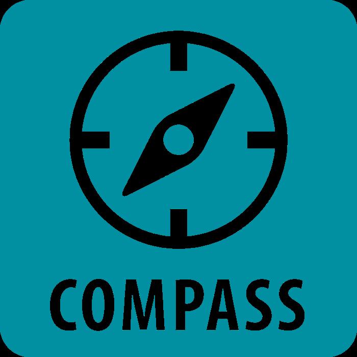 Compass program logo