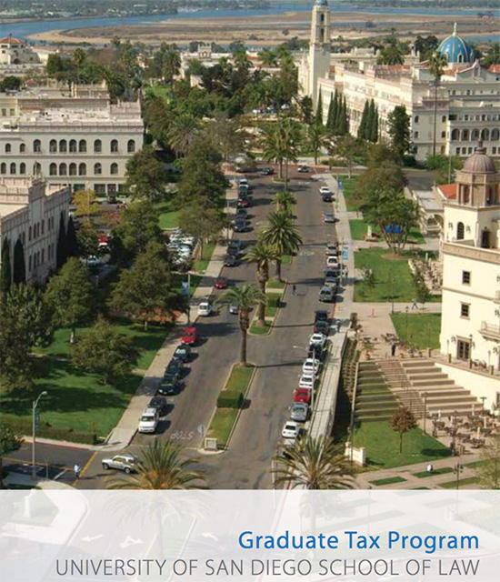San Diego Law School >> Llm In Taxation And Diploma In Taxation School Of Law University