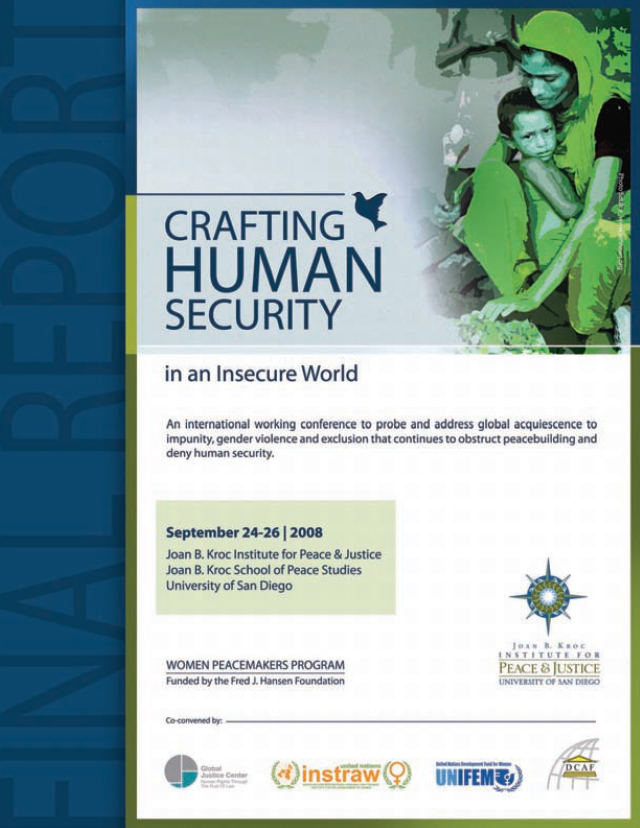 Crafting Human Security in an Insecure World