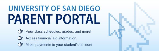 Parent Portal - Parent and Family Relations - University of San Diego