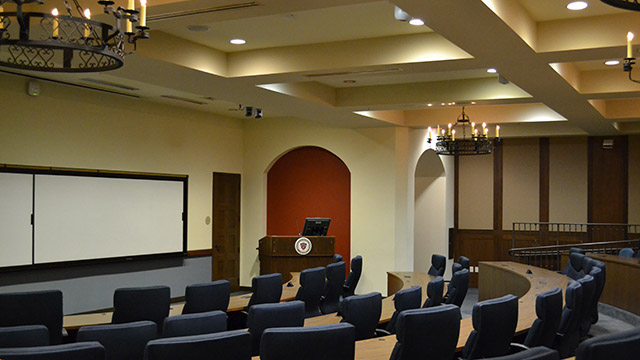 a SOLES executive classroom
