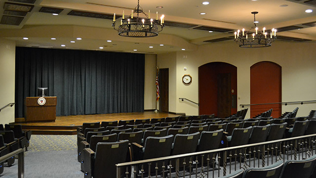 the warren auditorium
