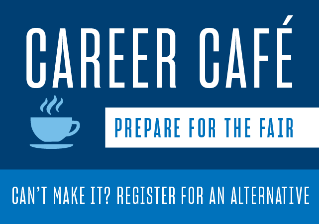 Career Cafe alternative flyer