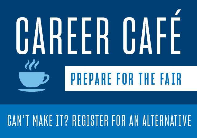 Career Cafe alternative flyer