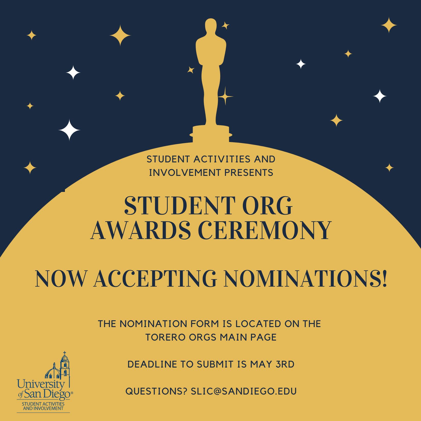 Student Org Awards