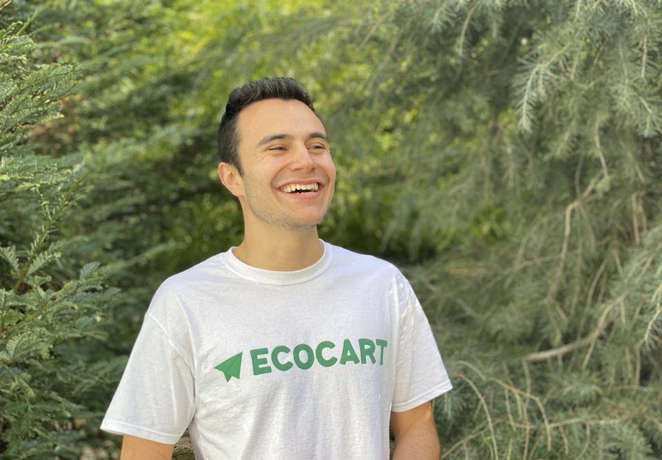 Photo of Dane Baker, USD School of Business Alumnus and EcoCart Founder