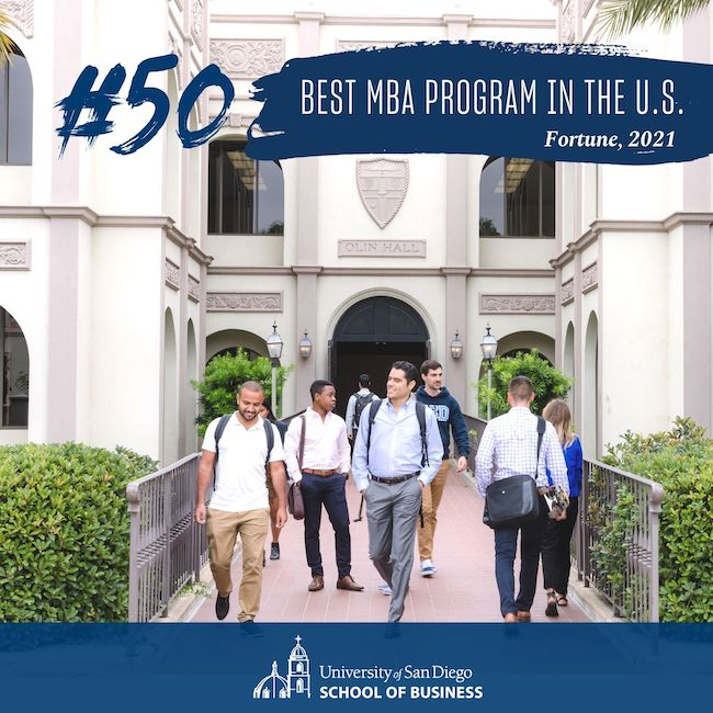 #50 Best MBA Program in the U.S. by Fortune (2021)