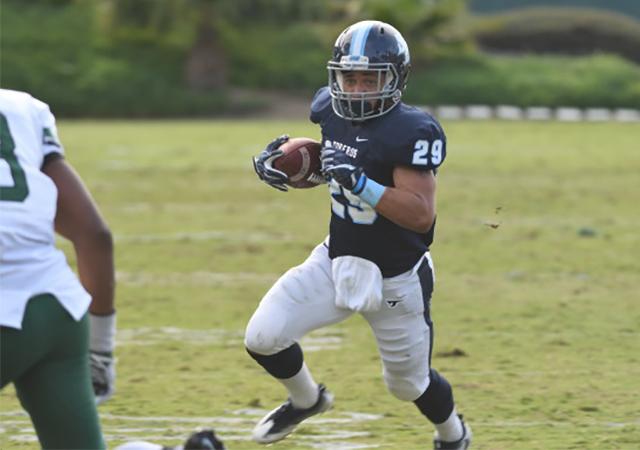 Jonah Hodges, USD running back