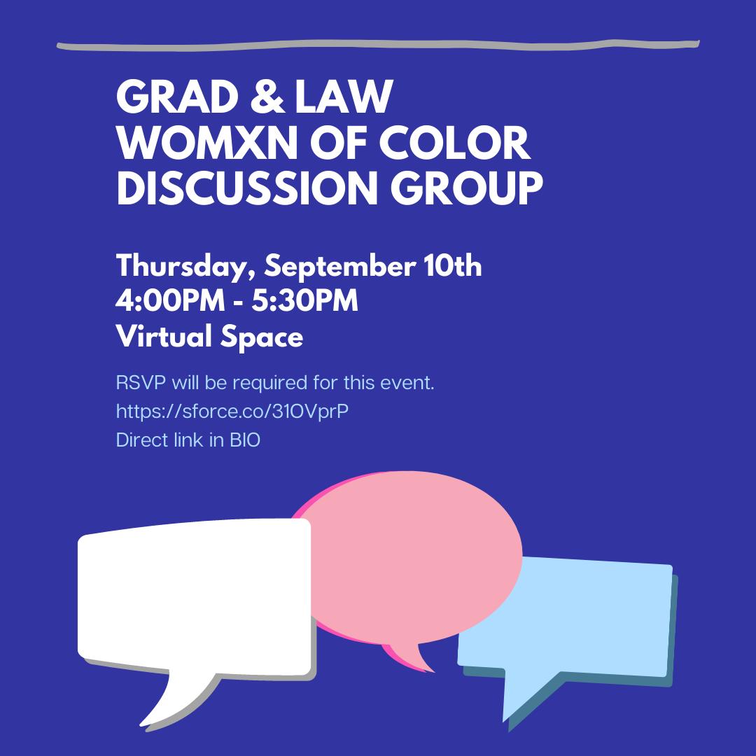 Womxn of Color Dialogue Flyer Thumbnail