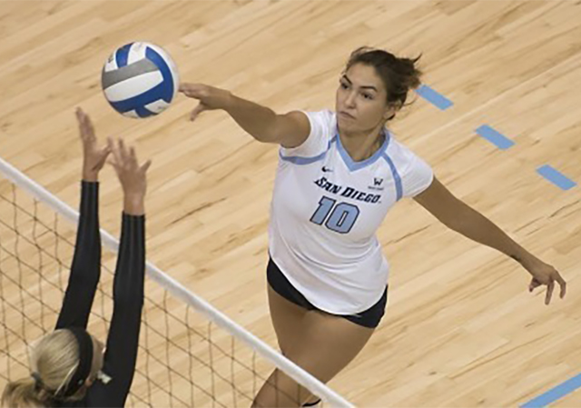 Lauren Schad, USD Volleyball