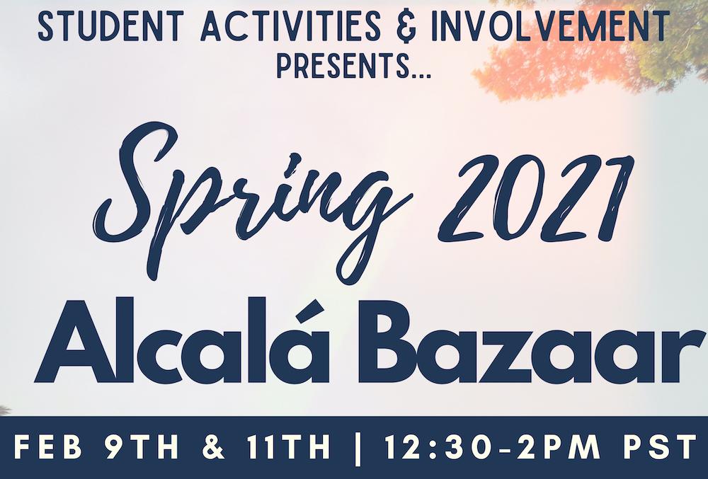 SAI presents: Alcal� Bazaar