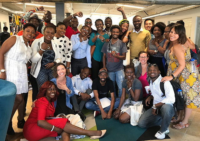 2017 Mandela Washington Fellowship Fellows at USD