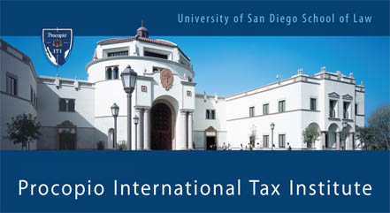 USD-Procopio International Tax Institute