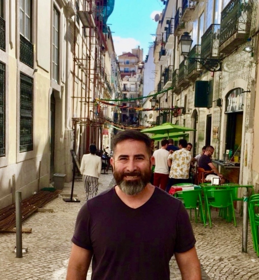 Anthony Gurule, a current USD student in the Master's in Global Leadership program