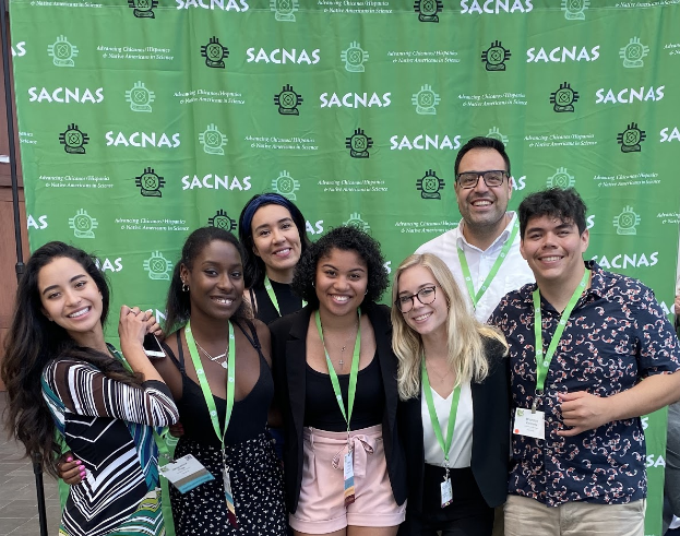 Students at SACNAS Conference