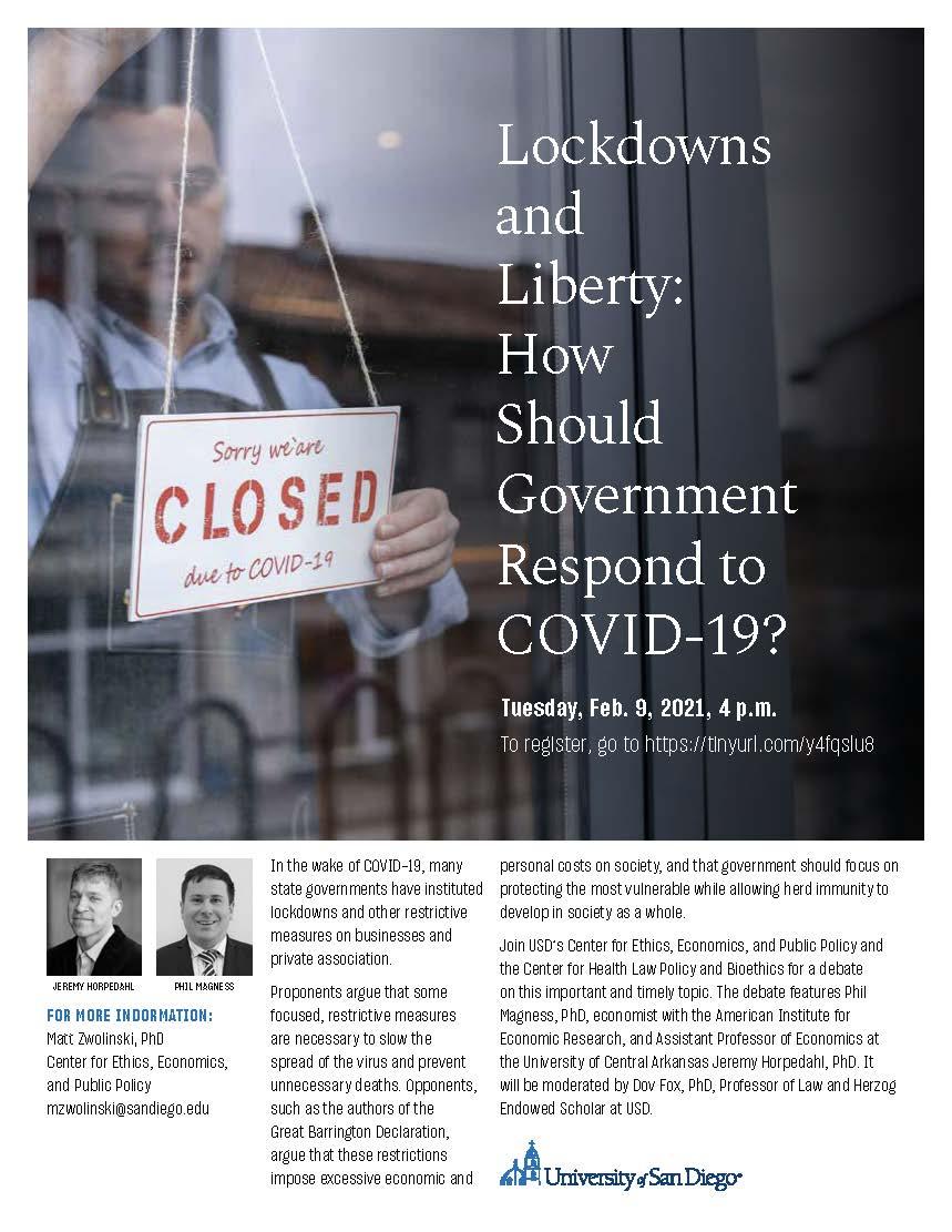 Lockdowns and Liberty
