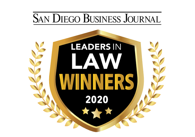 San Diego Business Journal 2020 Leaders in the Law