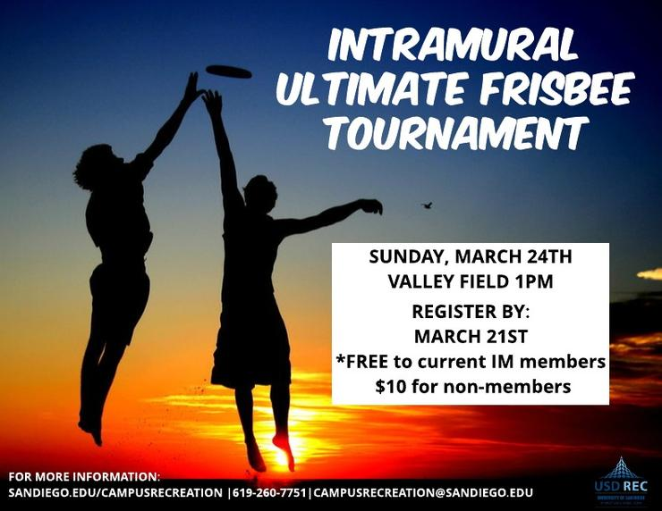 Ultimate Frisbee Tournament (alt)
