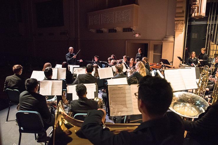 Photo of Wind Ensemble