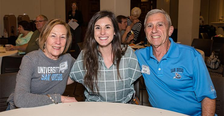 The 2019 Grandparents Weekend at USD, taking place Feb. 22-24, will be the 15th annual event. It's a true Torero family tradition.