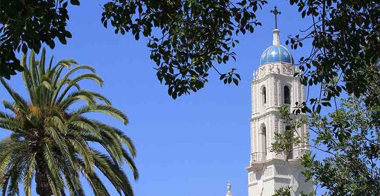 While the USD campus will be closed for most of the rest of December, The Immaculata Catholic Church will have Masses on Christmas Eve, Christmas and New Year's Day.