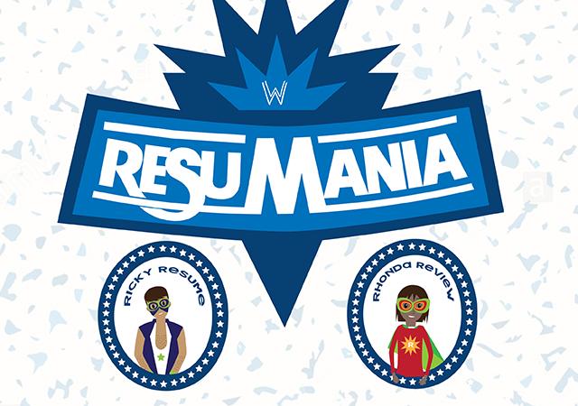 resumania event flyer