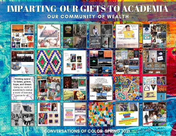 Conversations of Color Postcard
