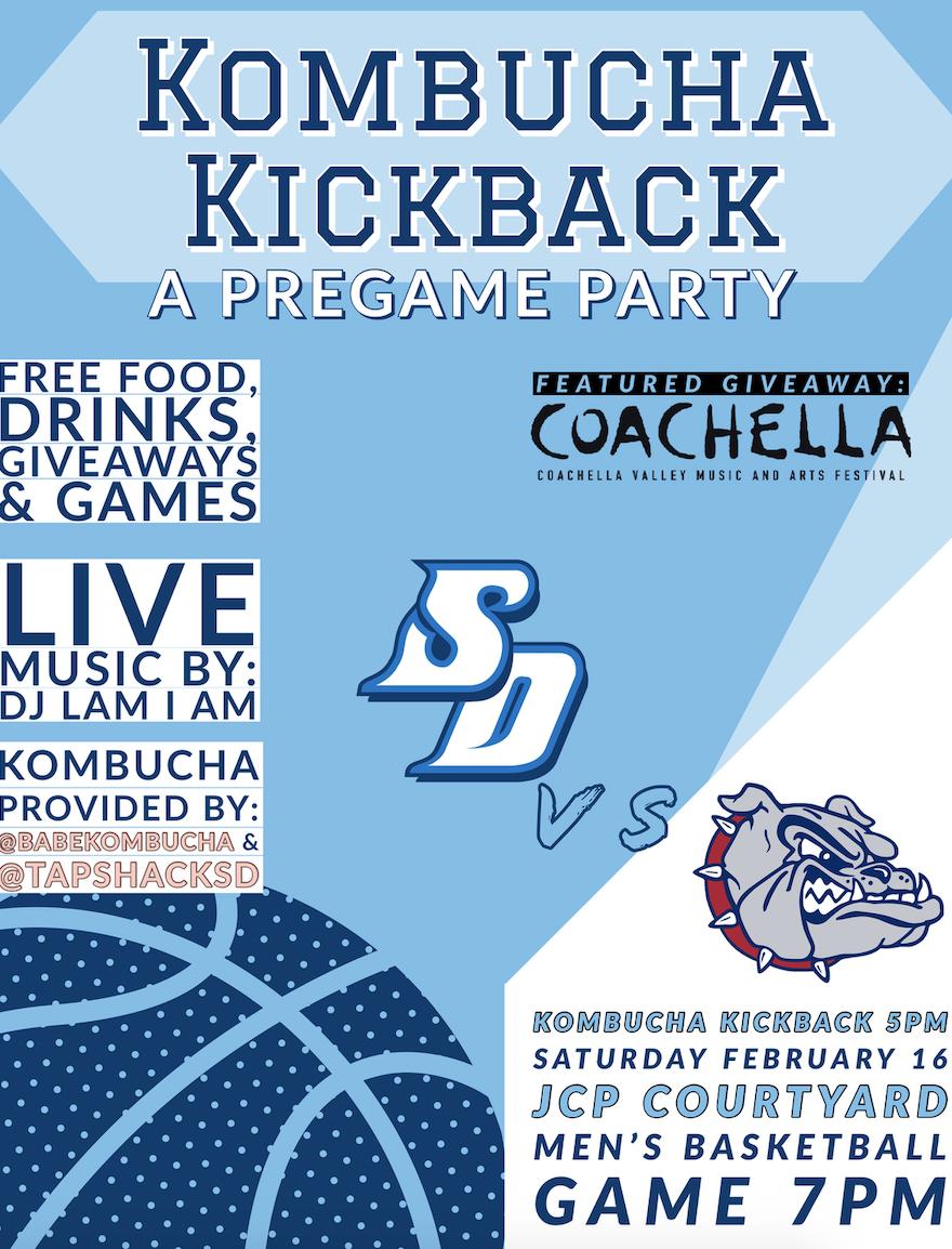 Kombucha Kickback Flyer
