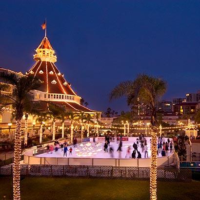 Hotel Del Ice Rink