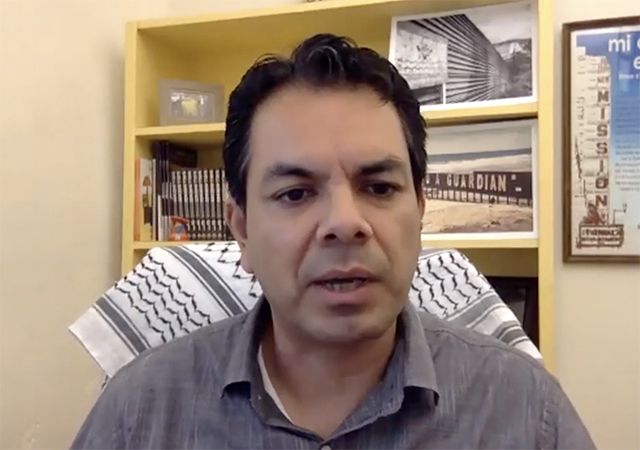 Pedro Rios '95, U.S. Mexico Border Program Director, American Friends Service Committee