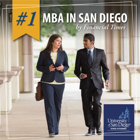 #1 MBA in San Diego