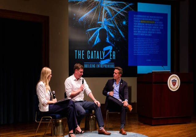Three USD alumni panelists speak at USD Legacy Entrepreneurship Conference