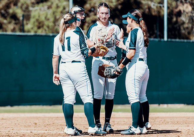 Softball had six players named to the All-WCC Academic Team and honorable mention list.
