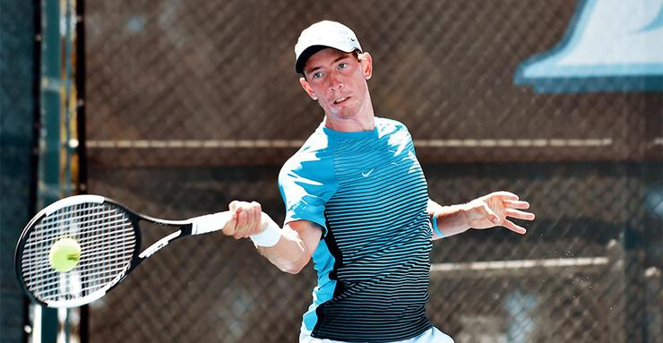 Gui Osorio and his USD men's tennis teammates defeated Minnesota in the first round, but then fell to No. 8 USC in the second round of the NCAA Tournament over the weekend.