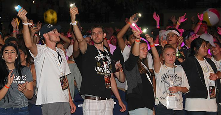 More than 4,000 Catholic and Christian high school students will be on the USD campus this weekend to take part in the 17th annual Steubenville San Diego Conference.