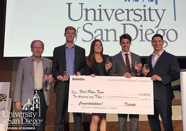 USD Accounting Team Takes First Place