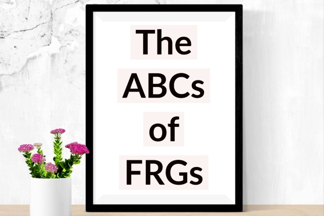 The ABCs of the FRGs