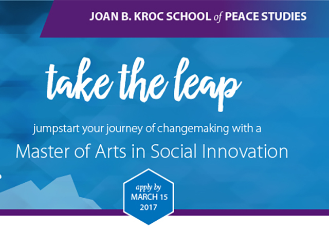 Master of Arts in Social Innovation