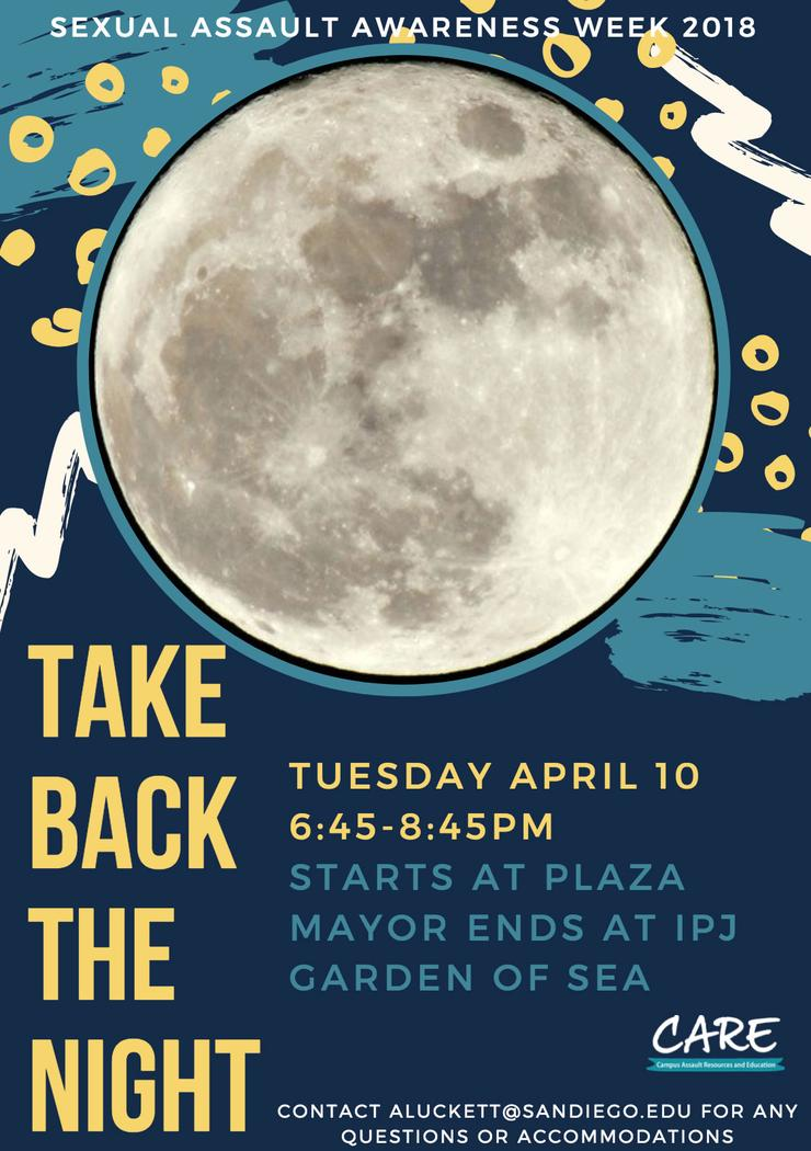 Take Back the Night Flyer