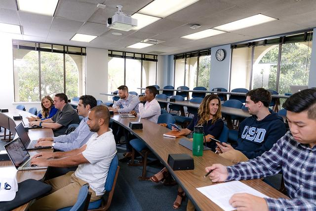 University of San Diego  Full Time MBA Program