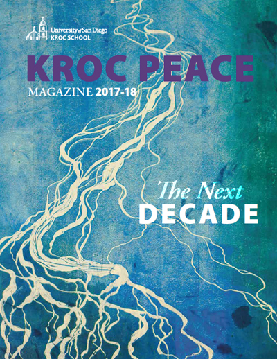 2017-18 Kroc Peace Magazine