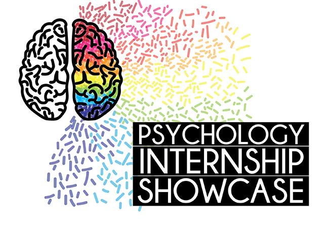 Spring Psychology Internship Showcase event flyer
