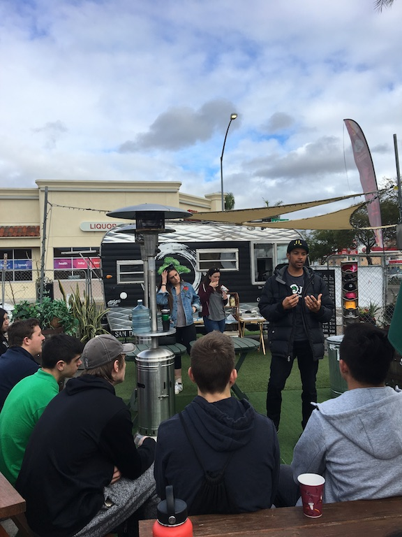 Students Visit Dojo Coffee in City Heights