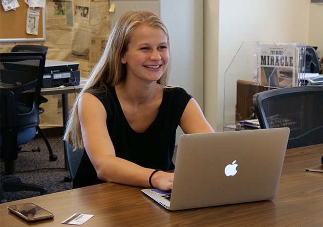 Kaia Hubbard is USD Vista Editor in Chief and third-place finisher in The Big Scribble