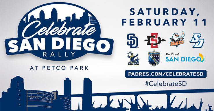 The University of San Diego will join local professional and fellow colleges and elected officials for a Celebrate San Diego Rally  on Feb. 11 at Petco Park downtown.