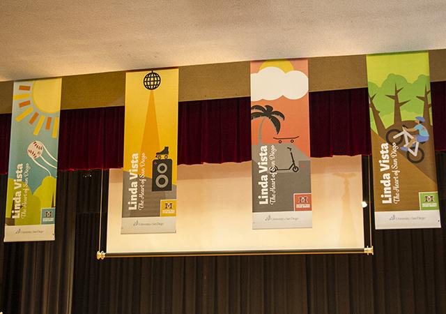 Linda Vista Banners at Montgomery