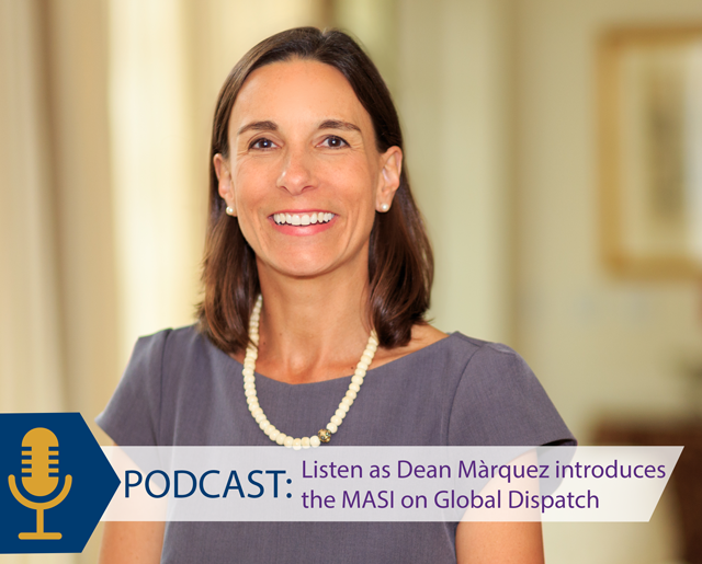 Dean Marquez speaks about the MASI on the Global Dispatch podcast