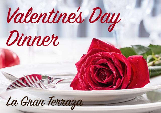 Valentine's Dinner at La Gran Terraza